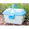 NEU Transportbox midi light blue